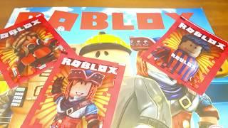 ROBLOX colle des figurines de l'album Planet Game.
