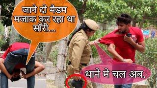 #Trending Propose Lady Police Prank Gone Wrong || New Prank Video In India || Suren Ranga