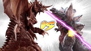 DESTROYAH VS SPACE GODZILLA [Who Would Win?]