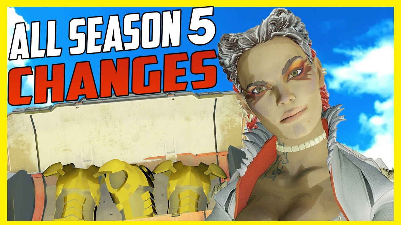 All Apex Legends Season 5 Changes + Patch Notes + First Quest Prologue thumbnail