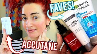 ACCUTANE UPDATE (6 Months!) + Favourite Skincare Products 2018 || Jess Bunty
