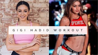 One of Danielle Peazer's most viewed videos: GIGI HADID FULL BODY WORKOUT | Danielle Peazer