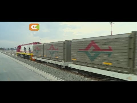 First SGR freight train makes trip to Nairobi from Mombasa