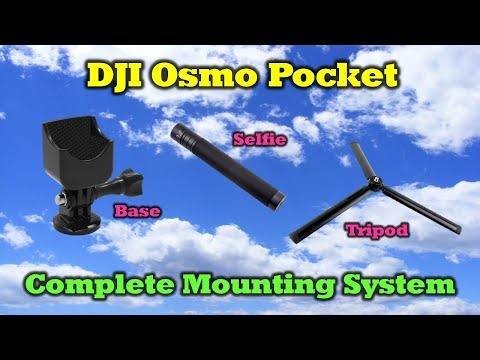 A Clever Mounting System For Your New DJI Osmo Pocket