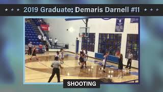 Demaris Darnell Junior Year Basketball Highlights