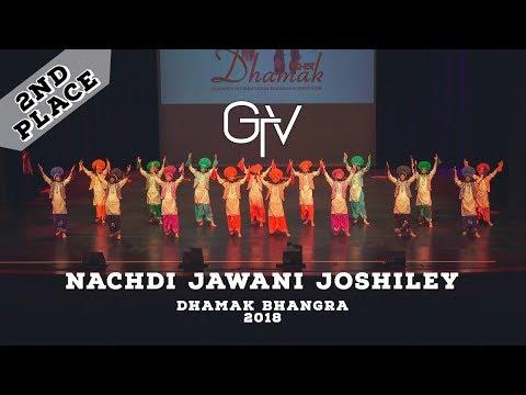 Nachdi Jawani Joshiley – Second Place – Dhamak Bhangra 2018