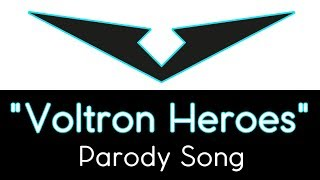 Voltron Heroes Parody Song by Morgan Berry Despacito parody