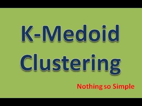 Difference between k means and k medoid cross validated.