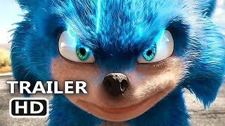 SONIC THE HEDGEHOG Official Trailer (2019) Jim Carrey Movie HD