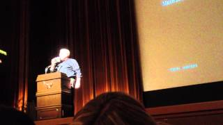 Peter Eisenman lecture in Osaka