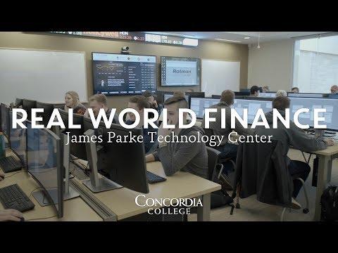 Real World Finance: James Parke Technology Center