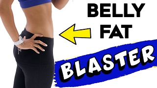 How To Get A Flat Tummy Fast  | 4 UNIQUE Exercises For A Flat Stomach