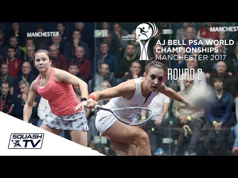 Squash: PSA World Championships 2017 - Women's Rd 2 Roundup Part 2