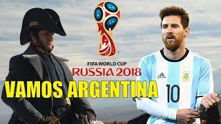 San Martin alienta a las Selección ARGENTINA