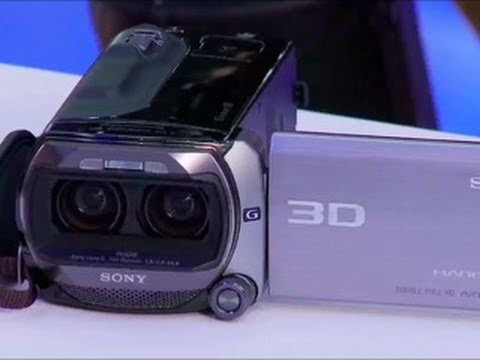 SGNL by Sony - EXCLUSIVE 3D Sony Handycam Debut at CES 2011 - Sony HDR-TD10 3D HD Camcorder Preview