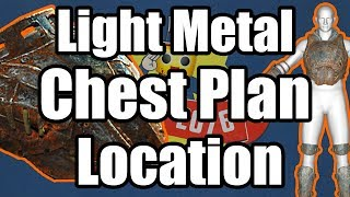 Fallout 76 - Light Metal Torso Plan Location - Where to Find Light Metal Chest