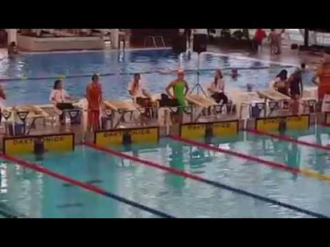 Copa Pacífico Chile 2016: Andrea Hurtado logró la medalla de oro en 200 espalda-RCP