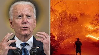 video: Earth Day: Joe Biden pledges US will halve greenhouse gas emissions by 2030 during climate summit