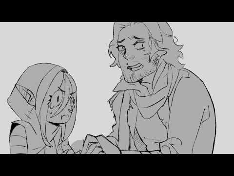 Critical Role Animatic - Pat My Burns Cause I Got Bit By A Cow (C2EP51)