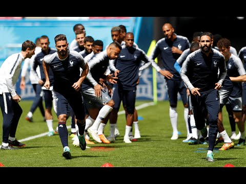 Suivez en direct l'entraînement de l'Equipe de France en Russie !