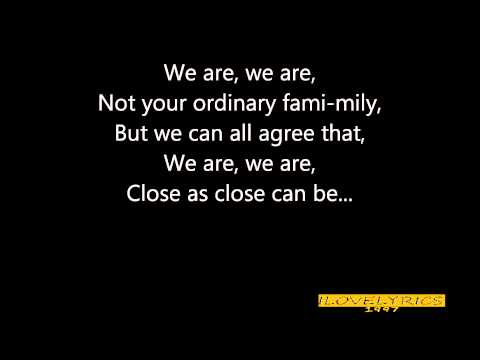 Keke Palmer - We Are Family (Ice Age 4) Lyrics on screen.