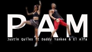Justin Quiles ft Daddy Yankee & El Alfa - Pam. Reggaeton Choreo by Jose Sanchez