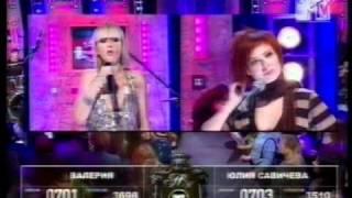 Валерия снимает клип на песню Ю Савичевой