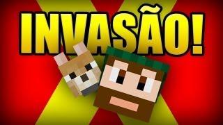 Ep 01. Diários de Minecraft X: A Invasão!