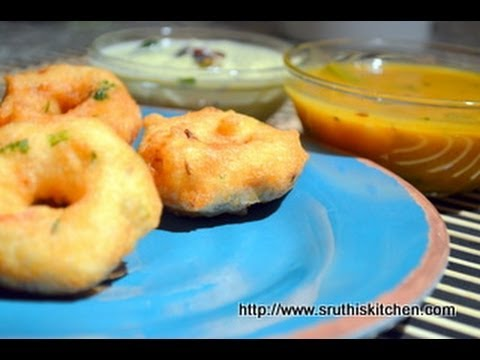 Medu Vada/ Garelu/ Vadai - South Indian Breakfast/ Snack Recipe