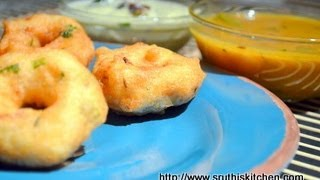 Medu Vada/ Garelu/ Vadai - South Indian Breakfast/ Snack Recipe
