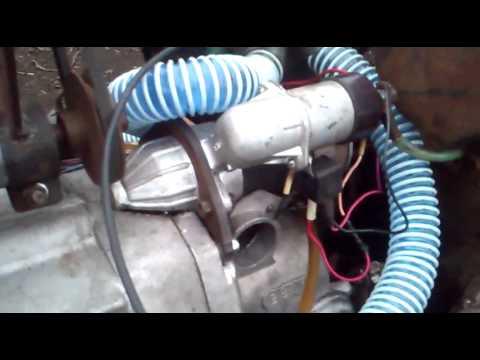Установка стартера на минетрактор с маторам днепр