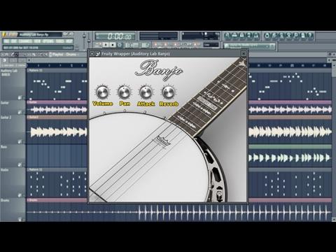 Auditory Lab Banjo Plugin - (Pc/Mac VST, AU)