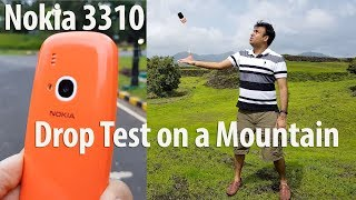 Nokia 3310 Drop Test On A Mountain Does It Survive?