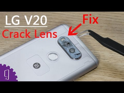 detailed look a45ee 67c65 LG V20 Cracked Camera Lens Repair Guide