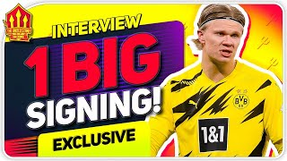 Solskjaer Wants HAALAND! De Gea & Cavani Going? Per Atle Karlsen Man Utd Interview