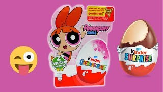 Power Girls Surprise Egg Set with Candy and Toys