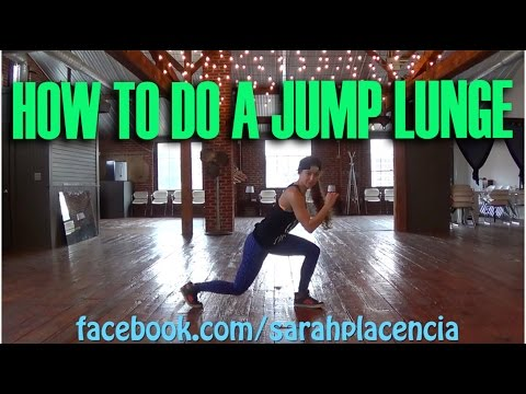 Fix Your Form How to Do a Jump Lunge