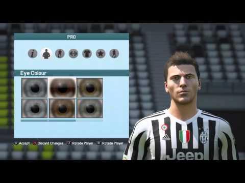 FIFA 16 Pro Clubs Look alikes Mario Mandzukic