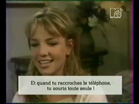 Britney Spears Gets ed By  On MTV atic 1999