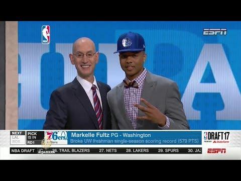 NBA Draft: Philadelphia odabrala prva