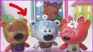 Ми-ми-мишки с БЛЁСТКАМИ Фреска Карамелька Три Кота для Лисички