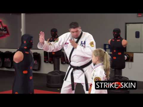 Strike-Skills - Episode 10 - How To Do A Defensive Combination Strike For Kids Self Defense