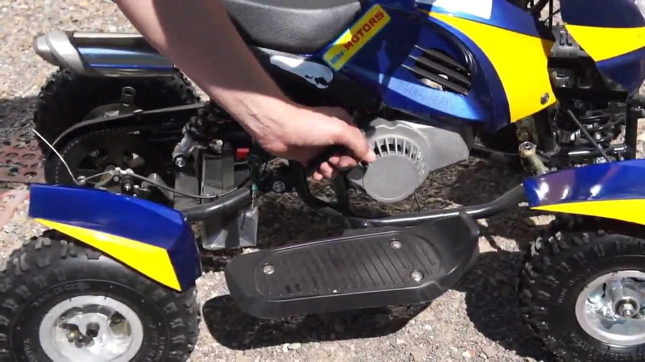 Детский Квадроцикл ATV 8016 110cc: 50км/ч, БЕНЗИН - raspashonka .