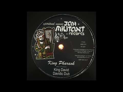 King David - King Pharaoh (Henry H Thompson) - Jah Militant Records Spiritual Music - JMR010
