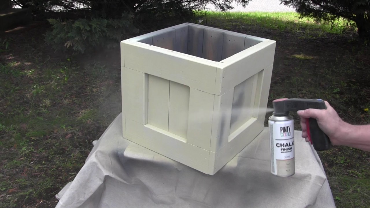 Bon How To Paint Furniture Using A Water Based Chalk Spray Paint