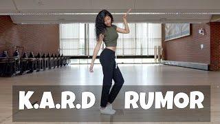 figcaption K.A.R.D (카드) Rumor (루머) - dance cover