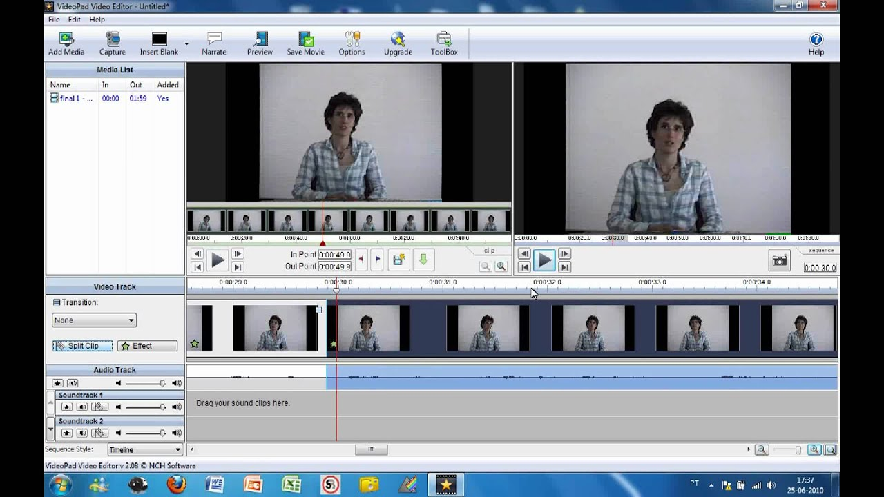 VideoPad Tutorial - YouTube