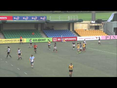 ARFU Asian Sevens Series 2014 - Hong Kong (Match 01 - Kazakhstan v Singapore) Women