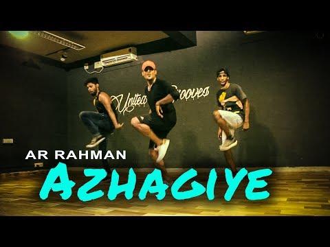 """""""Azhagiye"""" - A.R. Rahman dance   Irfan sheriff Choreography"""