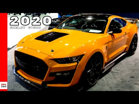 Twister Orange 2020 Ford Mustang Shelby GT500 Exhaust Sound